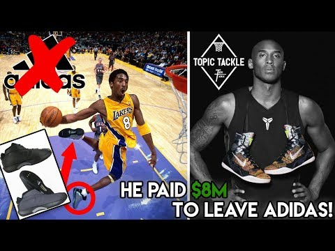 6c5dcc7bde6 The REAL Reason Why Kobe Bryant Left Adidas For Nike - Action.News ABC  Action News Santa Barbara Calgary WestNet-HD Weather Traffic