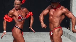 Spanish Duo Bodybuilding Routine