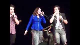Стефи Камарена, Joel y Brian en el Velma Café 11/05/14
