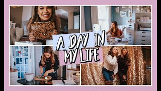 A Day In My Life WORKING FROM HOME  | Belinda Selene