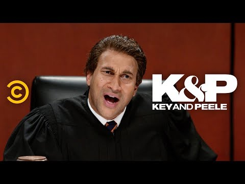 Overqualified Judge - Key & Peele