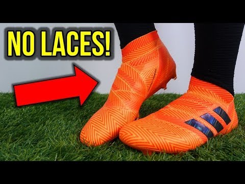 LACELESS BOOTS THAT DON'T SUCK! – ADIDAS NEMEZIZ 18+ REVIEW + ON FEET