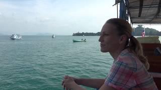 Путь с острова Пхайам, Ранонг, до Бангкок. Таиланд.