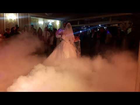 Спецефекти на  перший весільний танець, відео 1