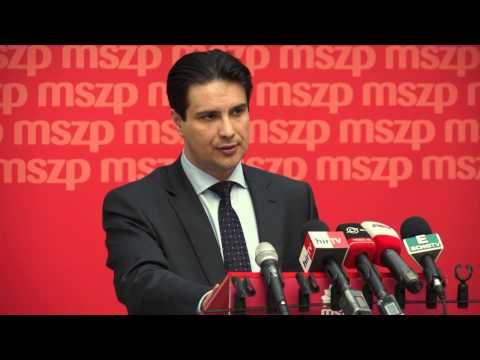 Nagyköveteknek ismertette Mesterházy Attila az MSZP gazdasági programját