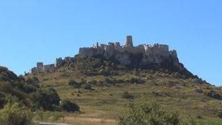 preview picture of video 'Walking Tour: Spiš Castle, Spišské Podhradie, Slovakia / Pěší výlet: Spišský hrad, Slovensko'