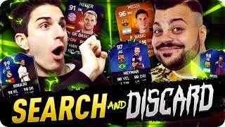 SEARCH AND DISCARD CON ANIMA !!! BEST MOMENTS FIFA