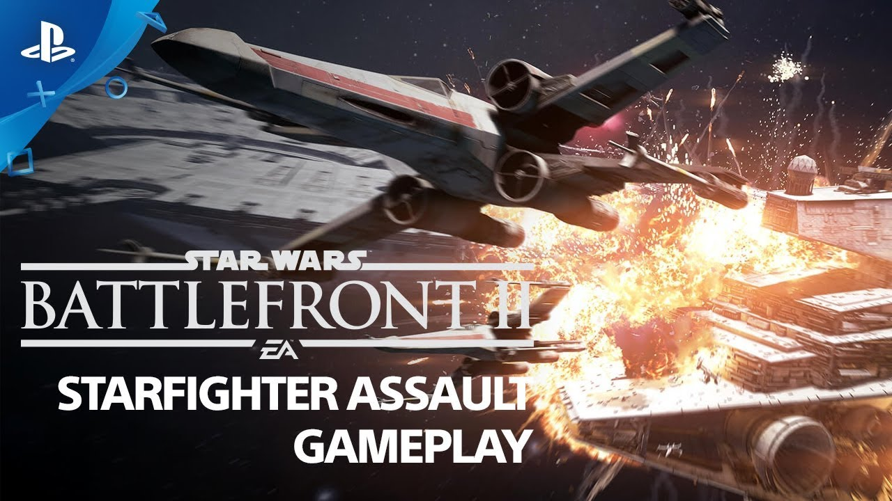 First Details on Star Wars Battlefront II's Epic Starfighter Assault Mode Revealed