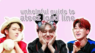Unhelpful Guide To Ateez Loud Line