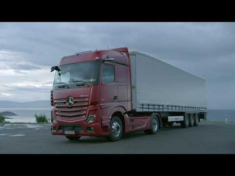 2019 Mercedes Actros Assistance Systems