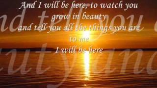 I will be here / Steve Curtis Chapman