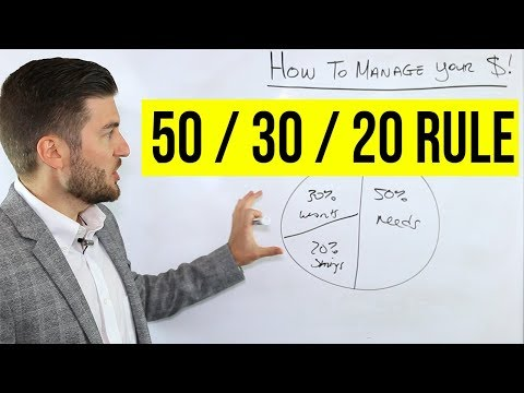 , title : 'How To Manage Your Money (50/30/20 Rule)