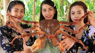 Yummy cooking big crab recipe - Cooking skill