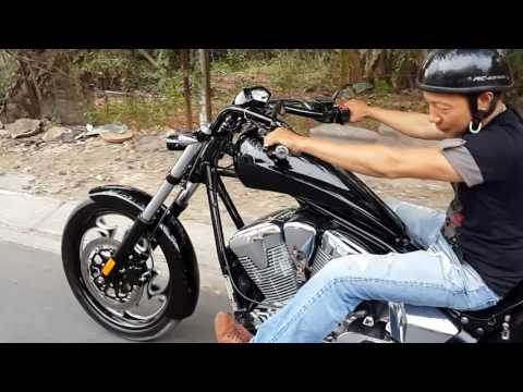 Test honda Fury chopper …