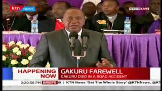 President Uhuru Kenyatta: Wahome was intrumental in bringing Nyeri people together