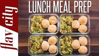 The Best Lunch Meal Prep For Work Or School  - Weekly Meal Prep