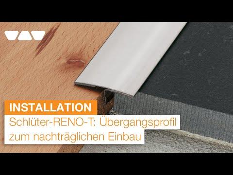 Nachträglich sichere Übergänge schaffen: Schlüter-RENO-T