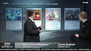 Pro Tour Fate Reforged Modern Deck Guide: Affinity with Frank Karsten