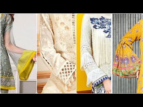 New Trendy And Useful Sleeves Designs 2019 For Summer Kurtis/Frocks And Top