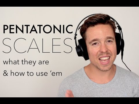 PENTATONIC MAGIC | What is a pentatonic scale and how can you use it? Piano Tutorial.