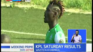 K'ogalo top standings with 25 points in the Kenya Premier League