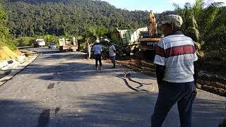 preview picture of video 'Kecelakaan Hino di Kalimantan, Kecelakaan Hari ini'