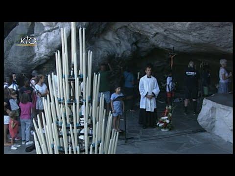 Chapelet à Lourdes du 24 août 2019