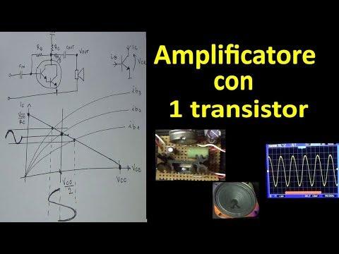 PierAisa #332: Amplificatore con un transistor in classe A