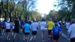 preview picture of video 'Marathon de Madrid 2010'
