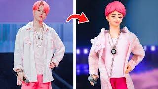 5 лайфхаков и поделок с Барби / Превращаем кукол Барби в знаменитостей