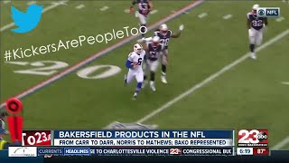 Update on Bakersfield players in the NFL