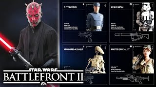 Star Wars Battlefront 2 - Jump Pack, Personal Shield Return! - First Look at Class System