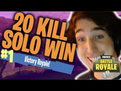 THE NEXT NINJA | 20 KILL WIN | FORTNITE GAMEPLAY MITCH JONES