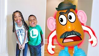 MR POTATO HEAD TOY vs Shiloh And Shasha PART 2 - Onyx Kids