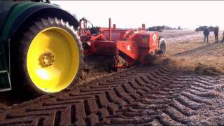 UK Built Larrington Straw Remover being used in Germany