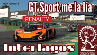 Gran Turismo Sport - Modo Sport | Manufacturer Series - Llegó Interlagos... y me la lía GT Sport