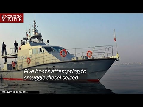 Five boats attempting to smuggle diesel seized