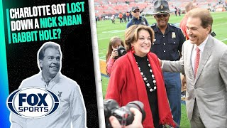 Charlotte Wilder Got Lost Down a Nick Saban Rabbit Hole | The People's Sports Podcast by FOX Sports