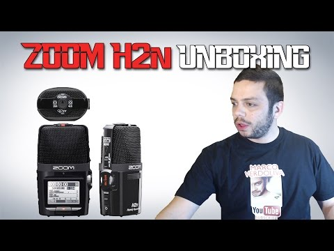 Zoom H2n Microfono - Unboxing