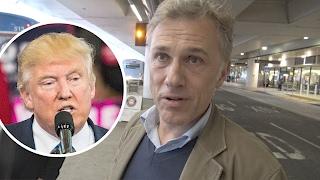 Christoph Waltz Has Harsh Words for President Trump | Splash News TV
