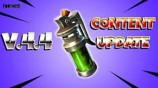 FORTNITE PvE : V.4.4 CONTENT UPDATE ~ WHAT IS A CONTENT UPDATE?