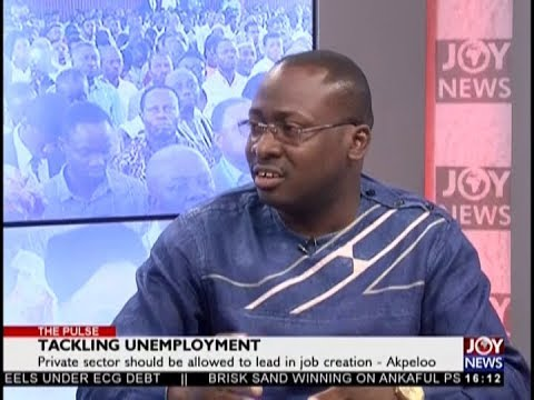 Tackling Unemployment - The Pulse on JoyNews (17-10-18)