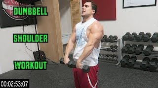 Intense 5 Minute Dumbbell Shoulder Workout by Anabolic Aliens