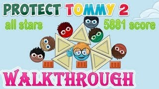 Protect Tommy 2 Walkthrough (full) Levels 1-20 All Stars