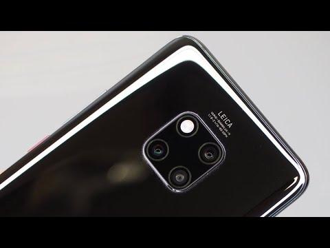 Распаковка Huawei Mate 20 Pro - годный Powerbank для iPhone за 77 000р. (не занесли)