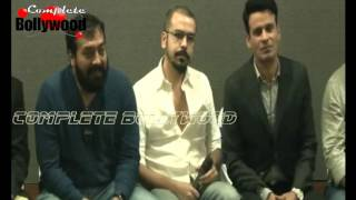 Manoj Bajpayee Anurag Kashyap Tigmanshu Dhulia & Others At Launch Of Short Film Taandav