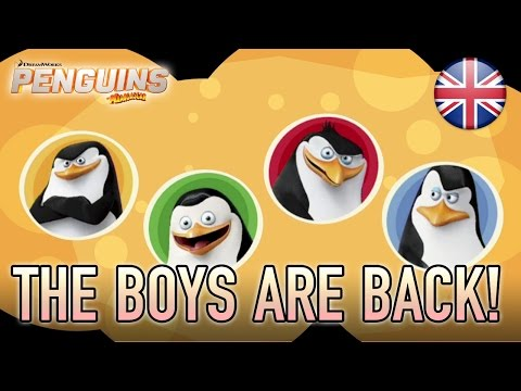 Penguins of Madagascar - WiiU/Wii/3DS - The Boys Are Back! (English Trailer)