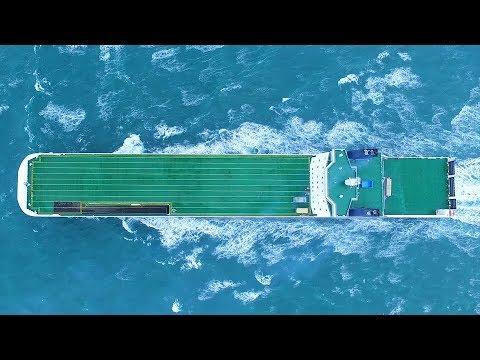 """Pirmasis """"mega"""" laivas pateko į """"DFDS"""" įmonę. Patalpins 450 priekabų"""