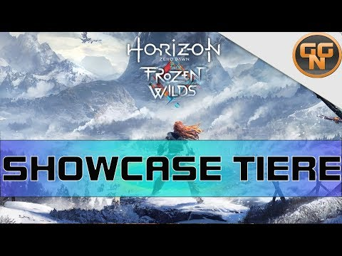 Horizon Zero Dawn Frozen Wilds: Alle Tierfiguren - All Animal Figurines Showcase