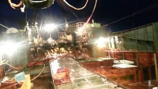 Kapal Trawl Pada Waktu Angin Badai (taifu)